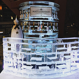 MOET ICE LOUNGE, SAPPORO SNOW FESTIVAL