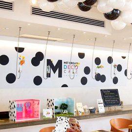 MO' CREAM Cafe Decor